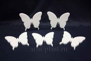 Заготовка из пенопласта для творчества бабочка вид 2
