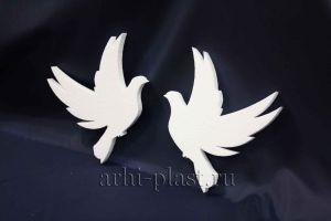 Заготовка из пенопласта для творчества 2 голубя