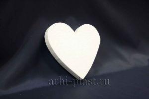 Заготовка из пенопласта для творчества сердце вид 5