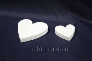 Заготовка из пенопласта для творчества сердце вид 6