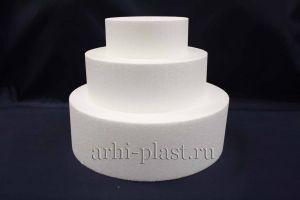 Заготовка из пенопласта для творчества торт диаметр 30, h-23