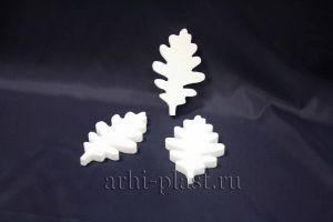 Заготовка из пенопласта для творчества дубовый лист