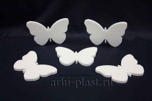 Заготовка из пенопласта для творчества бабочка вид 1